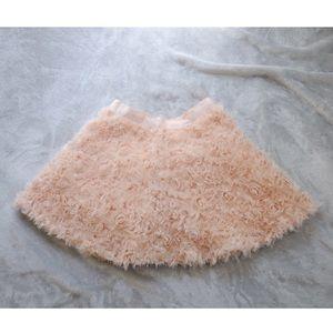 Roses Textured Skirt